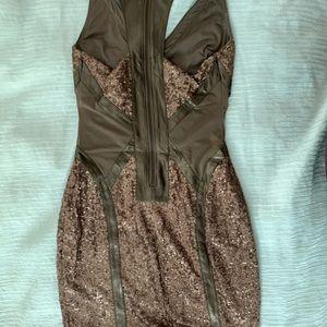 Bebe sequence dress